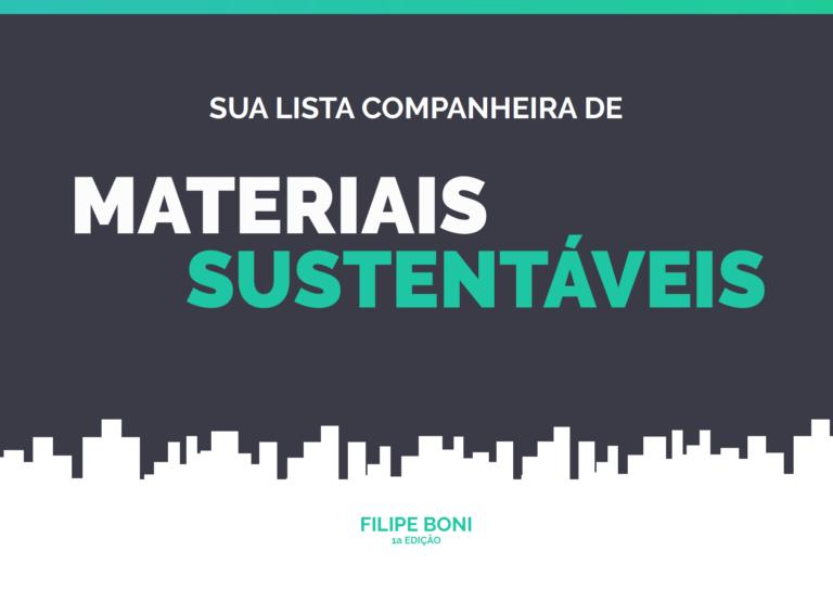 lista de materiais sustentáveis