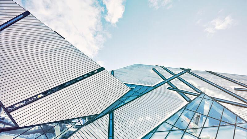 vidros na arquitetura