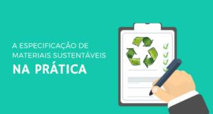 especificação de materiais sustentáveis