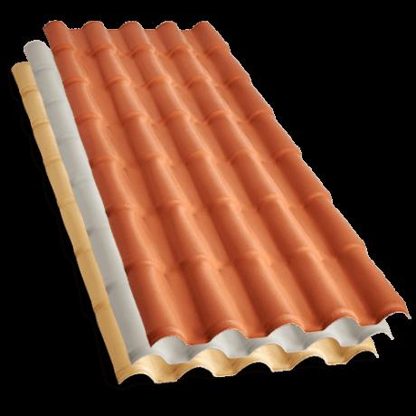 Telha de Plastico